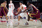Wisconsin Badgers forward Rob Wilson (33) handles the ball during a Big Ten Conference NCAA college basketball game against the Minnesota Golden Gophers on Tuesday, February 28, 2012 in Madison, Wisconsin. The Badgers won 52-45. (Photo by David Stluka)
