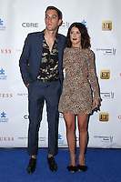BURBANK, CA - SEPTEMBER 29: Josh Beech and Shenae Grimes at the Autism Speaks' La Vie En Blue Fashion Gala at Warner Bros. Studios in Burbank, California on September 29, 2016. Credit: David Edwards/MediaPunch