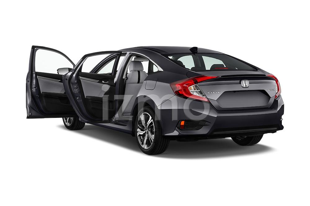 Car images of 2018 Honda Civic Touring CVT 4 Door Sedan Doors