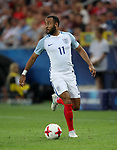 England's Nathan Redmond in action during the UEFA Under 21 Semi Final at the Stadion Miejski Tychy in Tychy. Picture date 27th June 2017. Picture credit should read: David Klein/Sportimage