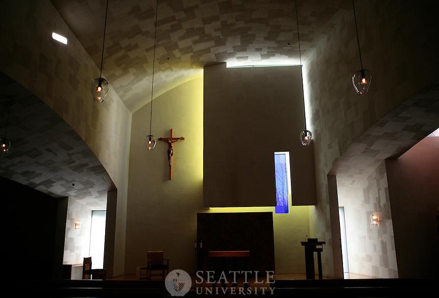 1142009- Interior of the Chapel of St. Ignatius