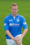 St Johnstone FC 2014-2015 Season Photocall..15.08.14<br /> Scott Brown<br /> Picture by Graeme Hart.<br /> Copyright Perthshire Picture Agency<br /> Tel: 01738 623350  Mobile: 07990 594431