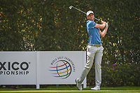Daniel Berger (USA) watches his tee shot on 12 during round 2 of the World Golf Championships, Mexico, Club De Golf Chapultepec, Mexico City, Mexico. 3/2/2018.<br /> Picture: Golffile | Ken Murray<br /> <br /> <br /> All photo usage must carry mandatory copyright credit (&copy; Golffile | Ken Murray)