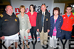 Enjoying the live broadcast from the Tom Dunne Show on Newstalk at Dr Crokes clubhouse on Friday last. .L-R Seamus Doherty, Kathleen Fitzgerald, Presenter Si?le Seoigem, Eamon Fitzgerald, Carmel Mansfield and Cillian Fitzgerald.