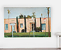 "Sanchez: Apartments on Venice Blvd., Digital Print, Image Dims. 41"" x 64"","