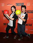 Emma Geer and Tatiana Maslany attend The Second Stage Theater's  32nd Annual All-Star Bowling Classic at the Lucky Strike on February 11, 2019 in New York City.