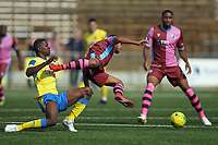 Jordan Edwards of Haringey during Haringey Borough vs Corinthian Casuals, BetVictor League Premier Division Football at Coles Park Stadium on 10th August 2019