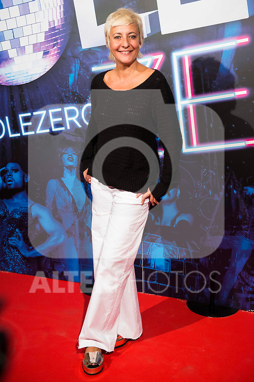 Eva Hache attends to the premiere of the The Hole Zero Show at Teatro Calderon in Madrid. October 04, 2016. (ALTERPHOTOS/Borja B.Hojas)