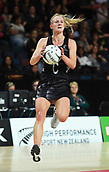 5th October 2017, Spark Arena, Auckland, New Zealand; Constellation Cup, New Zealand Silver Ferns versus Australia Diamonds;   New Zealand's Shannon Francois