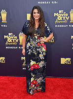 Deena Nicole Cortese at the 2018 MTV Movie &amp; TV Awards at the Barker Hanger, Santa Monica, USA 16 June 2018<br /> Picture: Paul Smith/Featureflash/SilverHub 0208 004 5359 sales@silverhubmedia.com