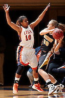 SAN ANTONIO, TX - NOVEMBER 11, 2011: The University of Missouri Tigers vs. The University of Texas at San Antonio Roadrunners Women's Basketball at the UTSA Convocation Center. (Photo by Jeff Huehn)
