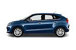 Car Driver side profile view of a 2016 Suzuki Baleno Skycruise 2 Door Convertible Side View