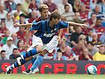 Aston Villa Stilyan Petrov and Inter Milan's Maxwell..Pic SPORTIMAGE/Simon Bellis..Pre-Season Friendly..Aston Villa v Internazionale..4th August, 2007..--------------------..Sportimage +44 7980659747..admin@sportimage.co.uk..http://www.sportimage.co.uk/