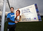 Cammy Bell promotes the Rangers Burns supper