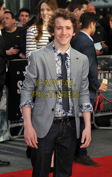 LONDON, ENGLAND - MAY 21: Art Parkinson attends the &quot;San Andreas&quot; world film premiere, Odeon Leicester Square cinema, Leicester Square, on Thursday May 21, 2015 in London, England, UK. <br /> CAP/CAN<br /> &copy;Can Nguyen/Capital Pictures