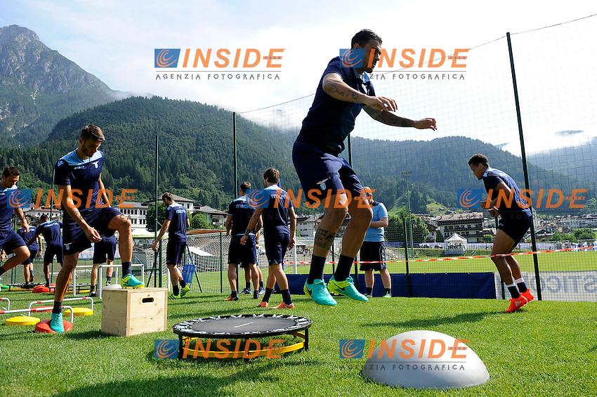 Mauricio<br /> 22-07-2016 Auronzo di Cadore ( Belluno )<br /> Ritiro estivo S.S. Lazio ad Auronzo di Cadore in preparazione per la stagione 2016-2017<br /> SS Lazio pre season training camp <br /> @ Marco Rosi / Fotonotizia / Insidefoto