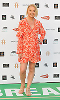 """LONDON, ENGLAND - JULY 22: India Willoughby at the """"Break"""" first ever UK Drive-In film premiere, Stadium Car Park off Brent Cross Shopping Centre, Stadium Road, on Wednesday 22 July 2020 in London, England, UK. <br /> CAP/CAN<br /> ©CAN/Capital Pictures"""