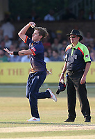 Adam Zampa in bowling action for Essex during Essex Eagles vs Middlesex, Vitality Blast T20 Cricket at The Cloudfm County Ground on 6th July 2018