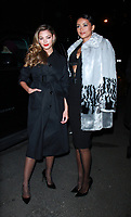 NEW YORK, NY February 12, 2018: Demi-Leigh Nel-Peters, Kara McCullough attend  Marvel Studios Black Panther Welcome To Wakanda New York Fashion Week Showcase at   Industria Studios in New York. February 12, 2018. Credit:RW/MediaPunch