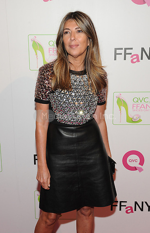 New York,NY-October 8: Nina Garcia at QVC presents 'FFANY Shoes on Sale' at Waldorf Astoria Hotel ln New York City on October 8, 2014. Credit: John Palmer/MediaPunch