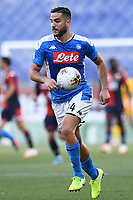 Konstantinos Manolas of SSC Napoli during the Serie A football match between Genoa CFC and SSC Napoli stadio Marassi in Genova ( Italy ), July 08th, 2020. Play resumes behind closed doors following the outbreak of the coronavirus disease. <br /> Photo Matteo Gribaudi / Image / Insidefoto