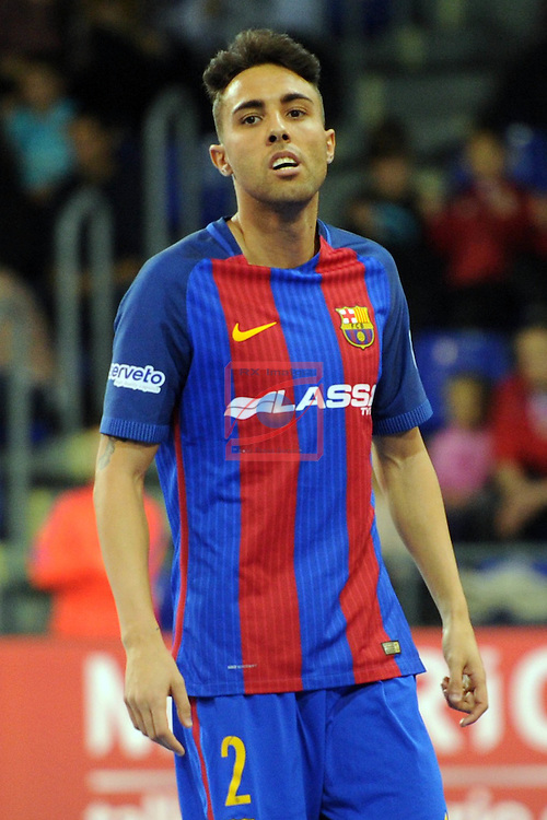 League LNFS 2016/2017 - Game 8.<br /> FC Barcelona Lassa vs ElPozo Murcia: 2-3.<br /> Jesus Nazaret Aicardo.