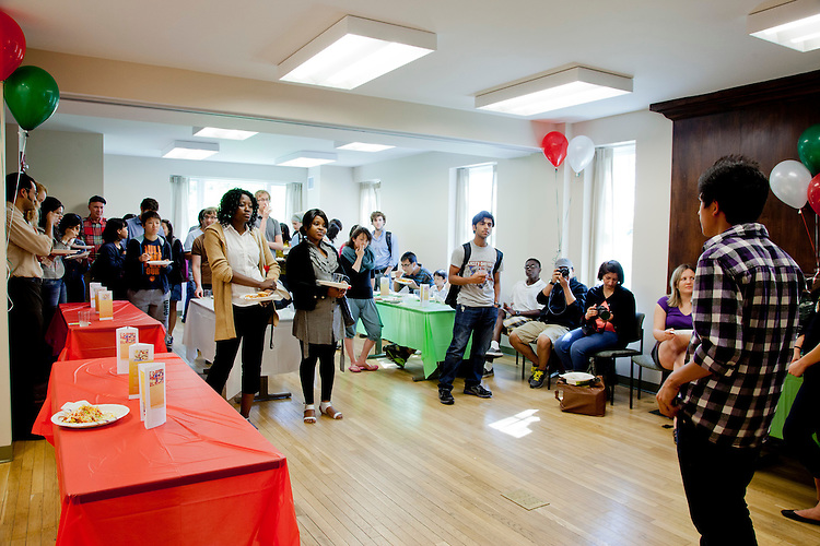 "Walter International Education Center's ""Global Meet and Greet"""