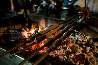 Street shots of north India. Photo by Suzanne Lee Tunday Kababi, the famous kabab stall in Lucknow, Uttar Pradesh,