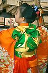 Japan, Tokyo, Harajuku, Meriji Shrin, Shichigosan (753) Festival