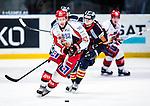 Stockholm 2013-12-28 Ishockey Hockeyallsvenskan Djurg&aring;rdens IF - Almtuna IS :  <br /> Almtuna Erik De la Rose i aktion <br /> (Foto: Kenta J&ouml;nsson) Nyckelord: