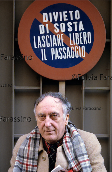 Milano, anni 90,Enrico Baj, Milan, 90\'s
