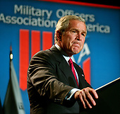 Washington, D.C. - September 5, 2006 -- United States President George W. Bush makes remarks on the Global War on Terror at the Capital Hilton Hotel in Washington, D.C. on September 5, 2006.<br /> Credit: Ron Sachs - Pool via CNP