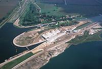 Deutschland, Brandenburg, Magdeburg,  Mittellandkanal, Großbauprojekt, Binnenschifffahrt, Schiffshebewerk, Magdeburg Rothensee...c Aufwind.Holger Weitzel.Gertrud- Bäumer- Stieg 102.21035 Hamburg.0171 6866069