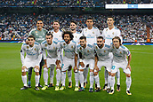 13th September 2017, Santiago Bernabeu, Madrid, Spain; UCL Champions League football, Real Madrid versus Apoel; Madrid team Group Line-up