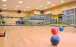 Indoor gym at Sports Club LA