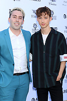 PALM SPRINGS - JAN 4:  Brett Leland McLaughlin, Troye Sivan at the Variety's Creative Impact Awards and 10 Directors to Watch Brunch at the Parker Palm Springs on January 4, 2019 in Palm Springs, CA