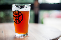 Copyright Justin Cook | July 24, 2013<br /> <br /> The Rye IPA at Crank Arm Brewery in Raleigh, N.C.