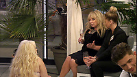 Celebrity Big Brother 2017<br /> Helen Lederer and Sarah Harding<br /> *Editorial Use Only*<br /> CAP/KFS<br /> Image supplied by Capital Pictures