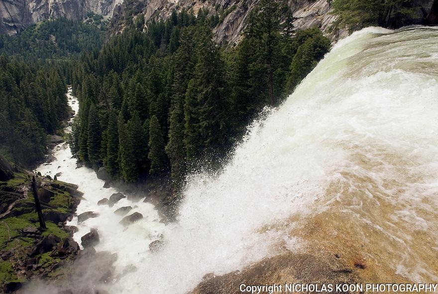 Top of Vernal Falls, Yosemite - 2011