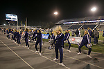 Nevada cheerleaders perform in the first half of an NCAA college football game against New Mexico in Reno, Nev., Saturday, Nov. 2, 2019. (AP Photo/Tom R. Smedes))