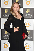 LONDON, UK. March 19, 2019: Alice Feetham arriving for the Royal Television Society Awards 2019 at the Grosvenor House Hotel, London.<br /> Picture: Steve Vas/Featureflash
