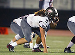 Torrance, CA 10/09/15 - Tyler Maseuli (Torrance #5) in action during the Torrance vs South High varsity football game.  South defeated Torrance 24-21.