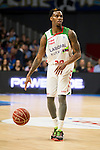 Laboral Kutxa's Darius Adams during Liga Endesa ACB at Barclays Center in Madrid, October 11, 2015.<br /> (ALTERPHOTOS/BorjaB.Hojas)