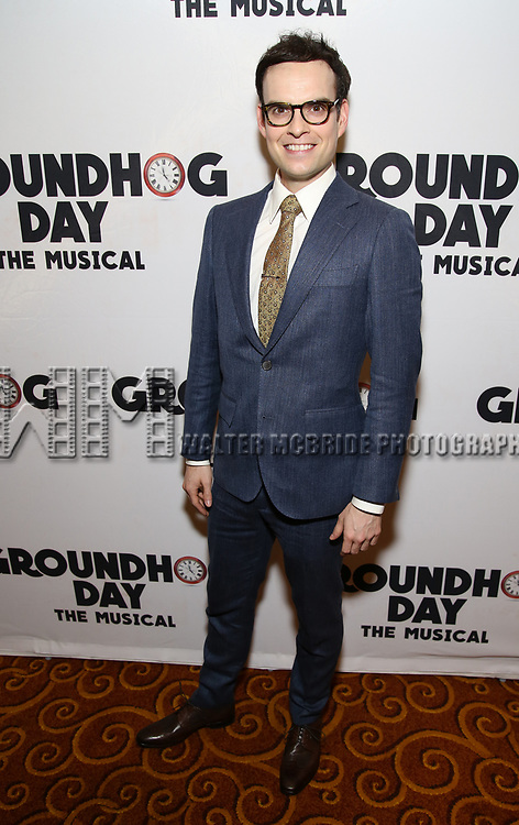 Jordan Grubb attends the Broadway Opening Night After Party for 'Groundhog Day' at Gotham Hall on April 17, 2017 in New York City.