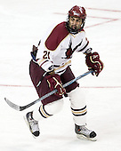 Wes Stephanian (BC - 21) - The Boston College Eagles defeated the visiting Boston University Terriers 6-2 in ACHA play on Sunday, December 4, 2011, at Kelley Rink in Conte Forum in Chestnut Hill, Massachusetts.