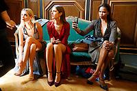 ELIE SAAB Haute Couture - Paris 2019<br /> Paris Fashion week Haute Couture 2019<br /> Paris, France in July 2019.<br /> CAP/GOL<br /> ©GOL/Capital Pictures
