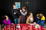 Presentation Secondary School drama production of The Two Loves of Gabriel Foley by Jimmy Keary on April 6th at St. John's hall Castleisland  Pictured Aine Barry as Chrissie, Anthoney, Anthony Bird as Gabriel, Hazel Mccarthy as Aggie, Oonagh O'Keefe as Lucy, and Donnacha Daly as Liam