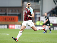 Burnley's Sam Vokes<br /> <br /> Photographer Rich Linley/CameraSport<br /> <br /> Emirates FA Cup Third Round - Burnley v Barnsley - Saturday 5th January 2019 - Turf Moor - Burnley<br />  <br /> World Copyright &copy; 2019 CameraSport. All rights reserved. 43 Linden Ave. Countesthorpe. Leicester. England. LE8 5PG - Tel: +44 (0) 116 277 4147 - admin@camerasport.com - www.camerasport.com