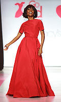 NEW YORK, NY February 08, 2018: Zuri Hall attend  American Heart Association's® Go Red For Women® Red Dress Collection® 2018 at Hammerstein Ballroom in New York. February 08, 2018. Credit:RW/MediaPunch