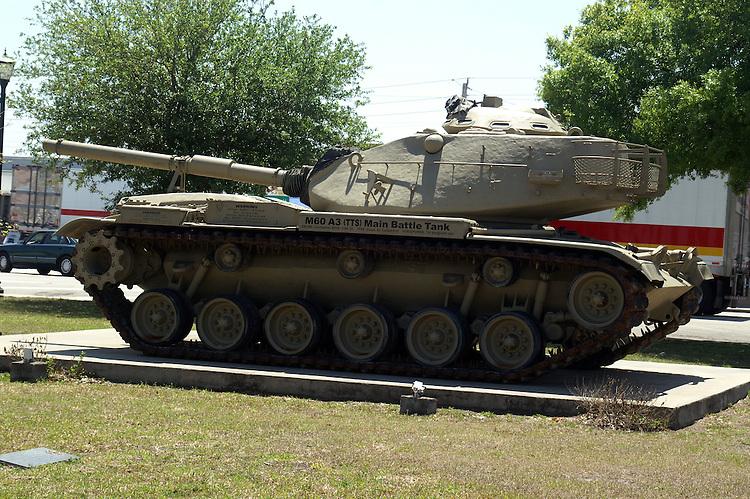 M60 AE Main Battle Tank at War Memorial in Okchobee, FL.